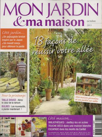 mon jardin et ma maison octobre 2011 mes parutions dans la presse la petite boutique des. Black Bedroom Furniture Sets. Home Design Ideas