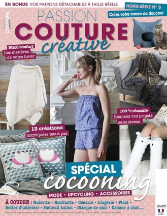 passion couture hors serie cocooning n°5