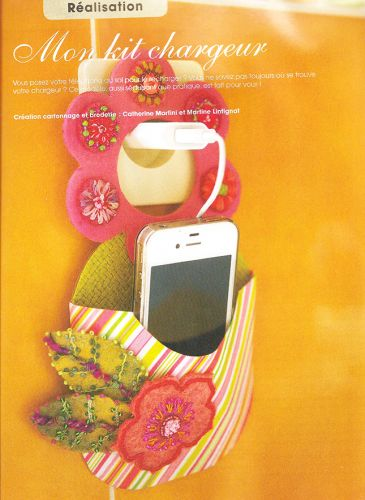 tuto porte iphone,diy porte telephone