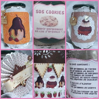 scrapbooking gourmandises