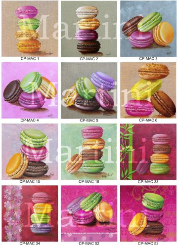 carte gourmandises, cartes macarons, carte gateaux