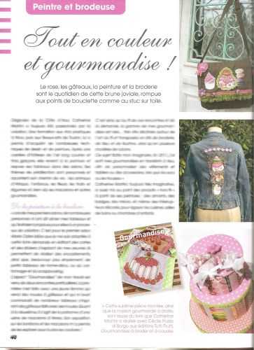 Passion cartonnage et broderie reportage catherine martini