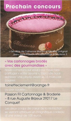 concours gourmandises