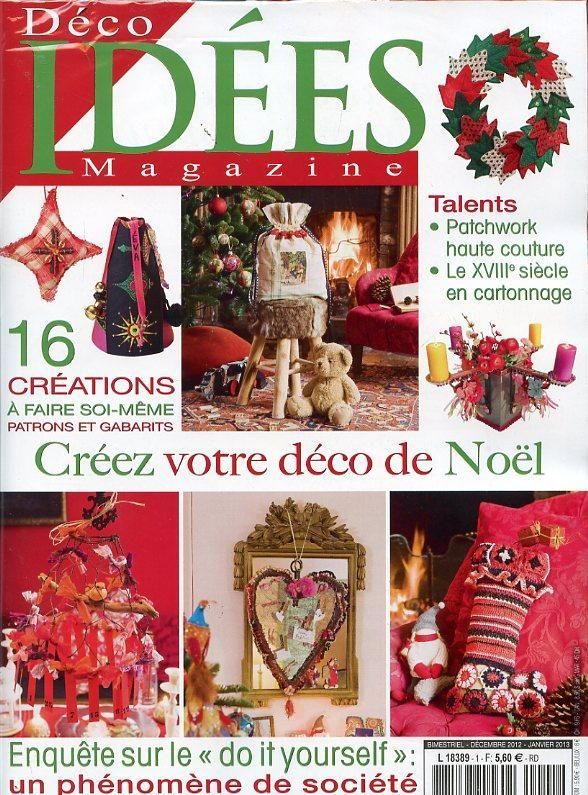 diy couronne de noel et candelabre boh me dans le d co id es magazine n 1 de cet hiver la. Black Bedroom Furniture Sets. Home Design Ideas
