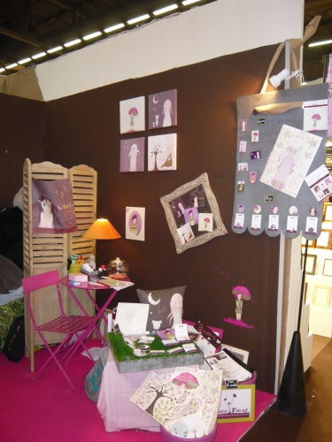 mon stand au salon maison et objet la petite boutique des gourmandises. Black Bedroom Furniture Sets. Home Design Ideas